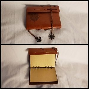 Outgeek vintage artificial leather bound  notebook